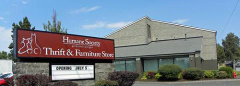 Hsco Thrift Store Humane Society Of Central Oregon